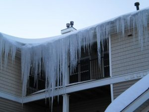 Water Damage from Ice Dams- Concord, NH